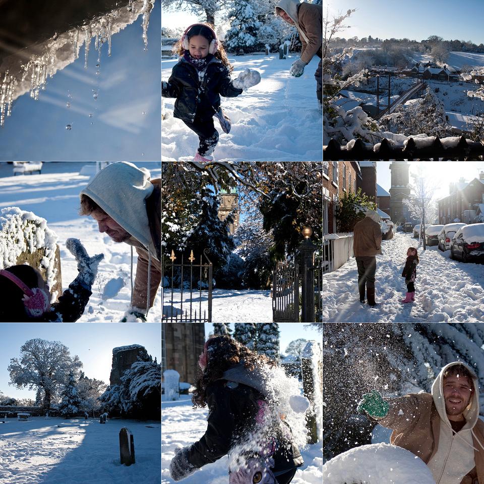 snow day 1 blog