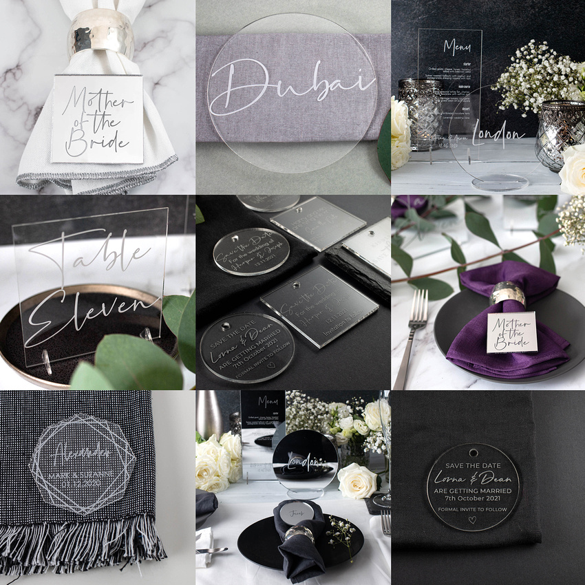 WedLux Box 5 Save The Dates